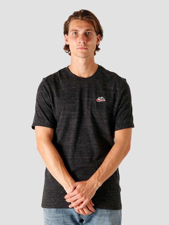 Nike NSW Heritage LBR T-Shirt Black CK2383-010
