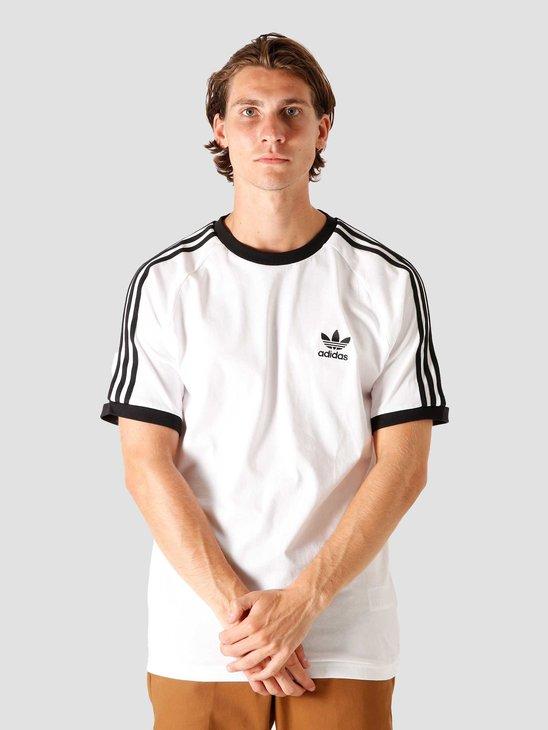 adidas 3-Stripes T-Shirt White CW1203