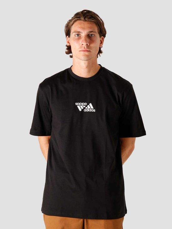 adidas One Team T-Shirt Black GE5506
