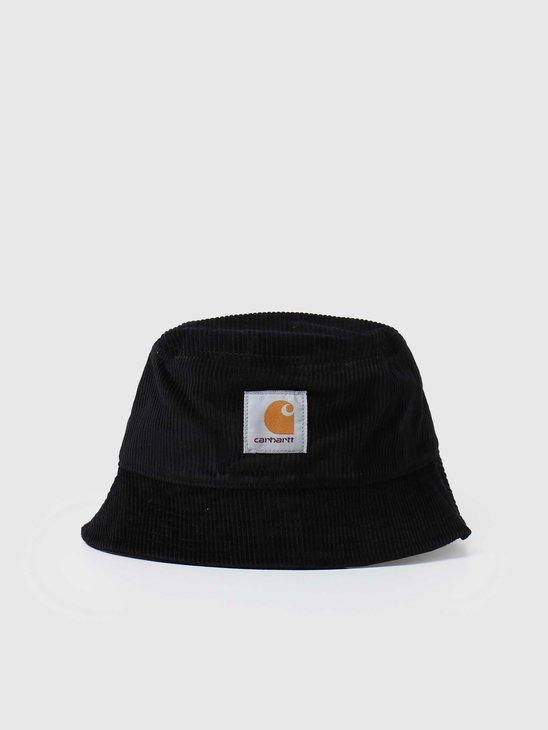 Carhartt WIP U Cord Bucket Hat Black I028162-8900