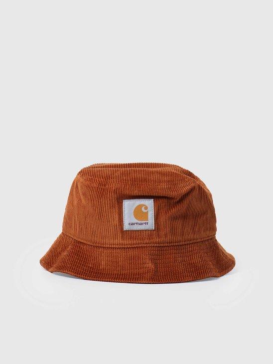 Carhartt WIP U Cord Bucket Hat Brandy I028162-0E900