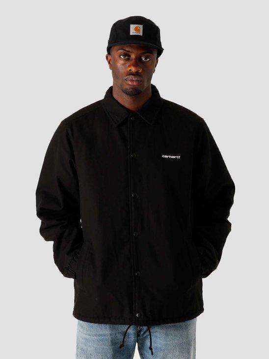 Carhartt WIP Canvas Coach Jacket Black White I026723