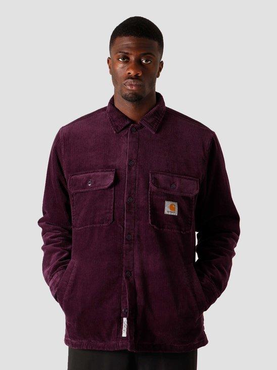 Carhartt WIP Whitsome Shirt Jac Boysenberry I028827-0E800