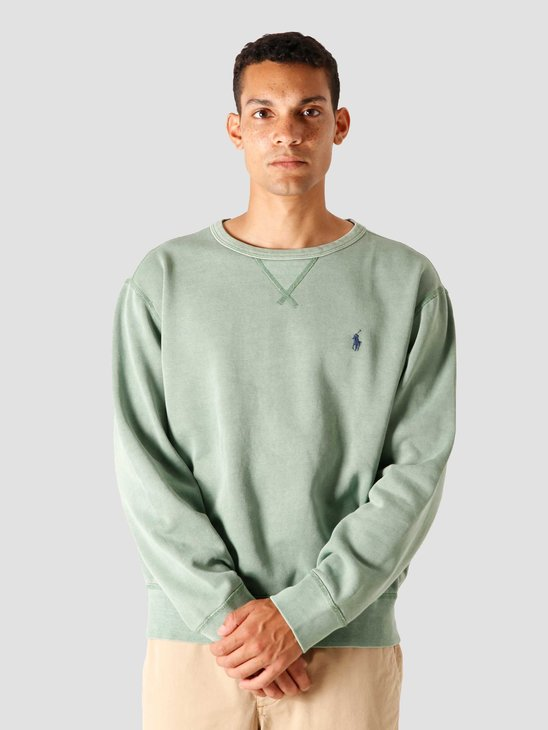 Polo Ralph Lauren Garment Dyed Knitted Sweater Pistachio 710792815006