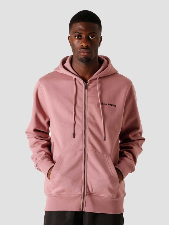 Daily Paper Pith Zip Hoodie Mauve Pink 2021175