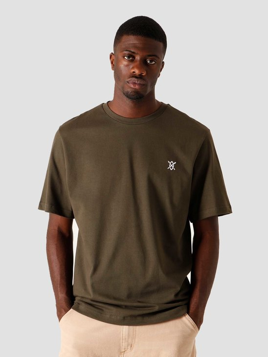 Daily Paper Shield T-Shirt Forest Green 2021100