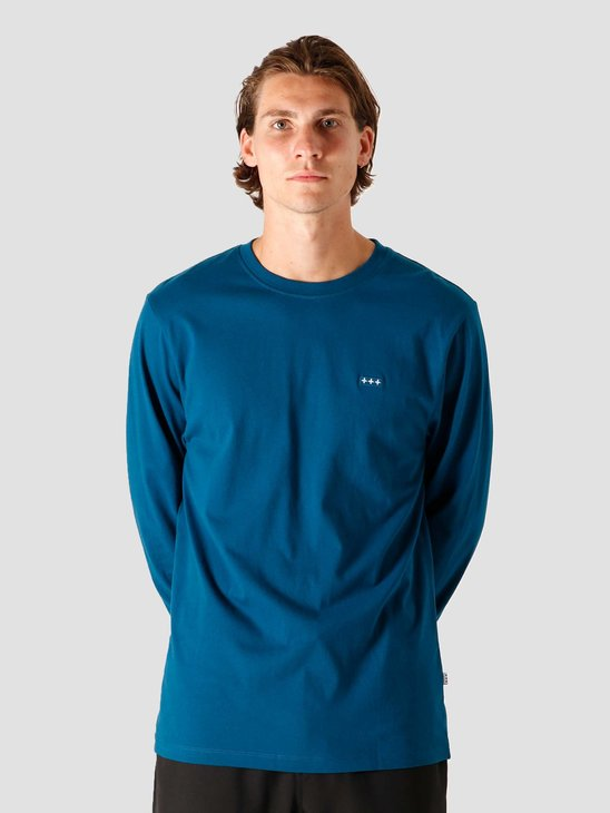 Quality Blanks QB05 Patch Logo Longsleeve Night Blue