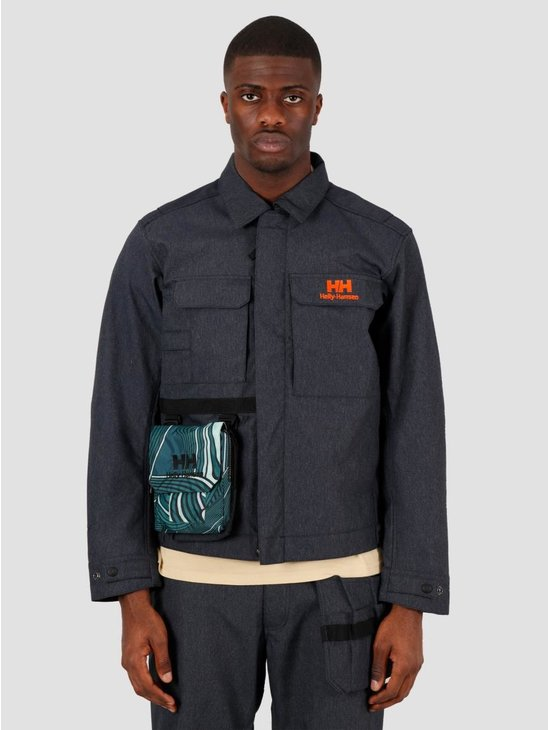 Helly Hansen Heritage Carpenter Jacket Navy Denim 53471-597