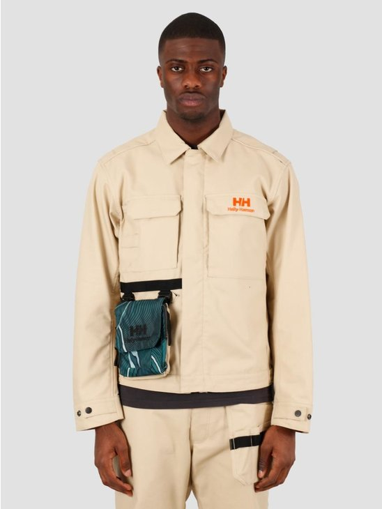 Helly Hansen Heritage Carpenter Jacket Heritage Khaki 53471-771