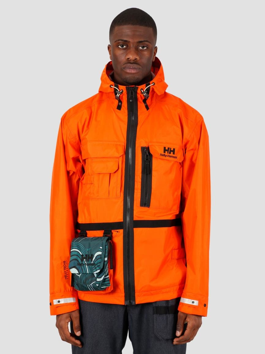Helly Hansen Helly Hansen Heritage Rain Jacket Bright Orange 53472-226