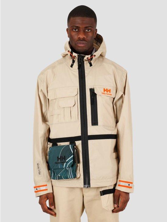 Helly Hansen Heritage Rain Jacket Heritage Khaki 53472-771
