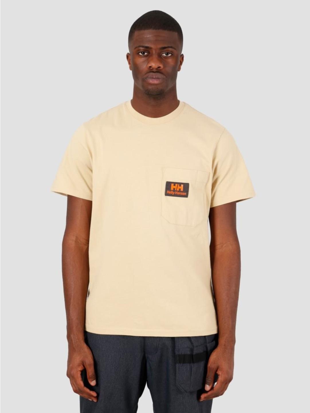 Helly Hansen Helly Hansen Heritage T-Shirt Heritage Khaki 53476-771