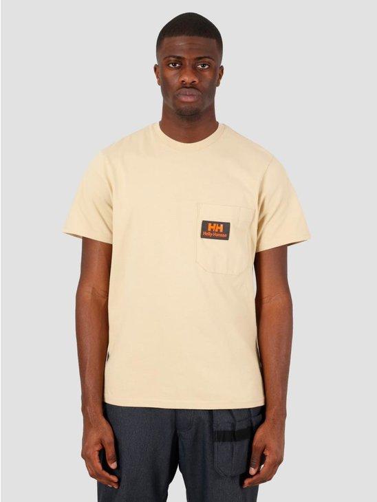 Helly Hansen Heritage T-Shirt Heritage Khaki 53476-771
