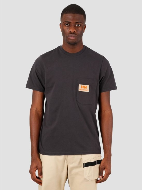 Helly Hansen Heritage T-Shirt Ebony 53476-980