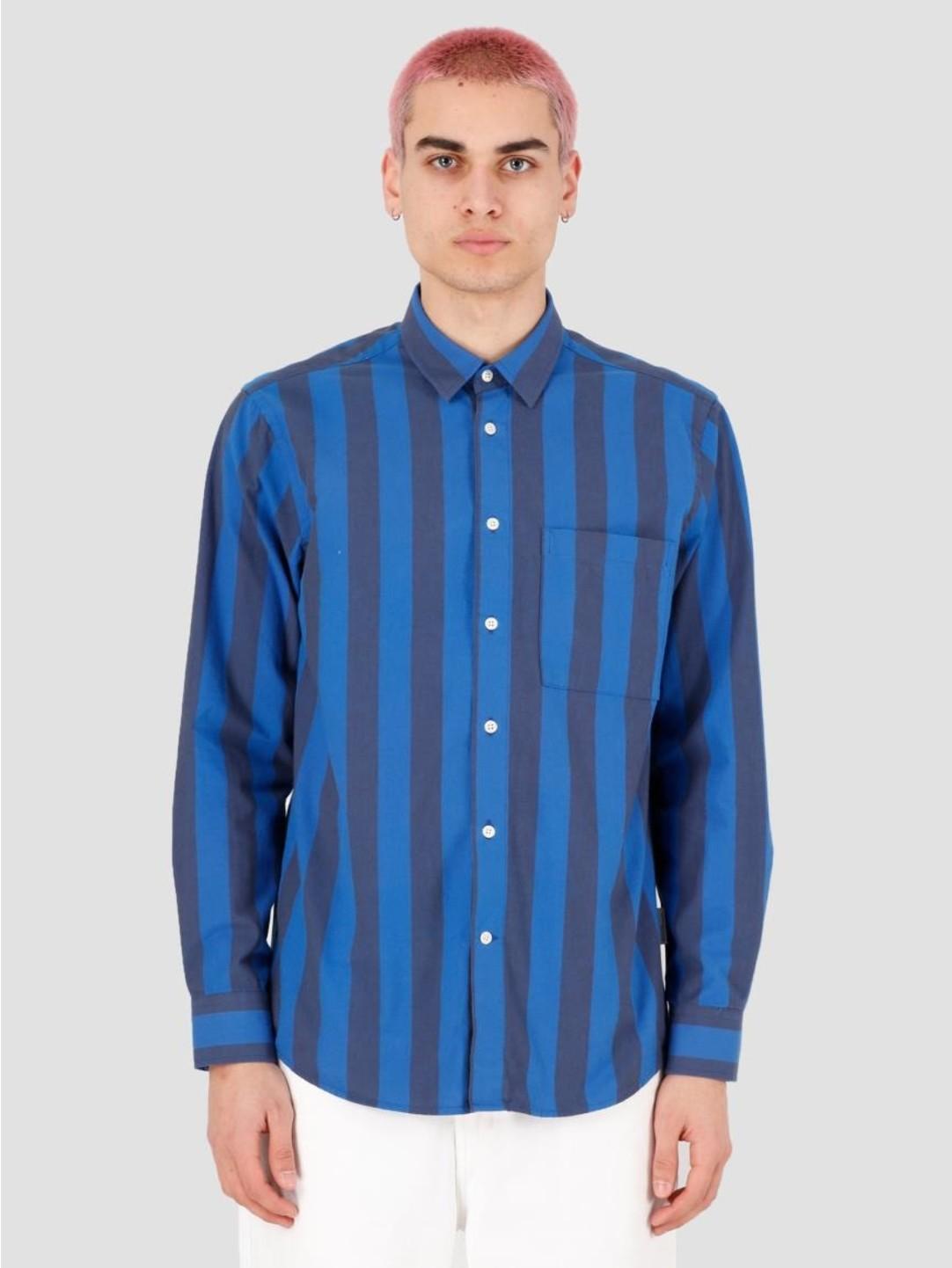 EU FC EU FC Soares Stripe Shirt Blue