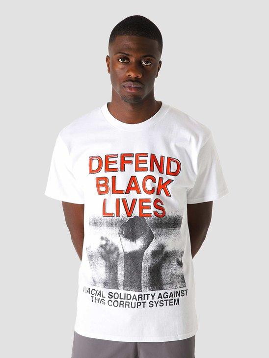 Obey Defend Black Lives 2 T-Shirt White 165262722 WHT