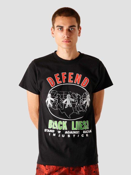 Obey Defend Black Lives T-Shirt Black 165262721 BLK