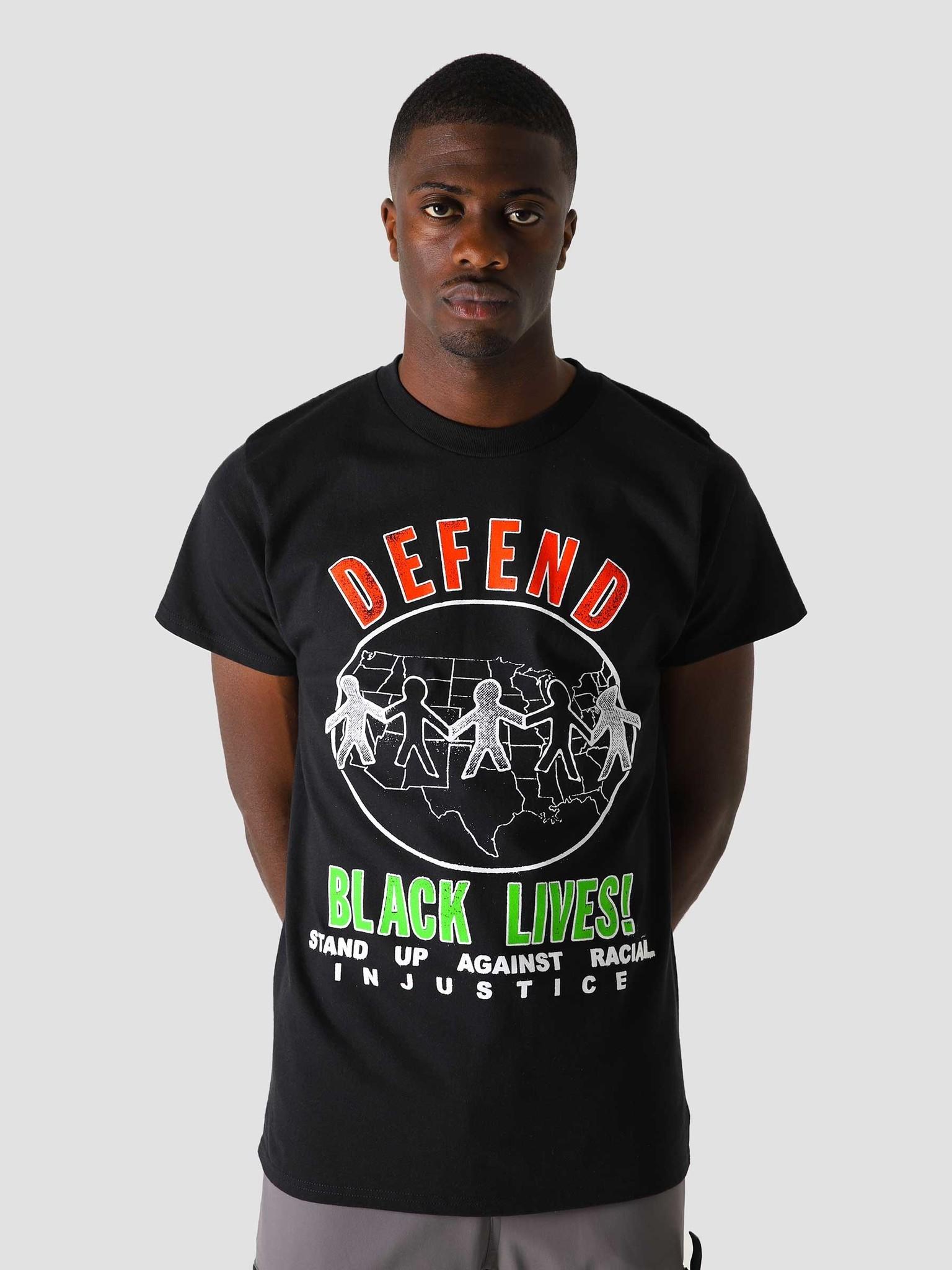 Obey Obey Defend Black Lives T-Shirt Black 165262721 BLK
