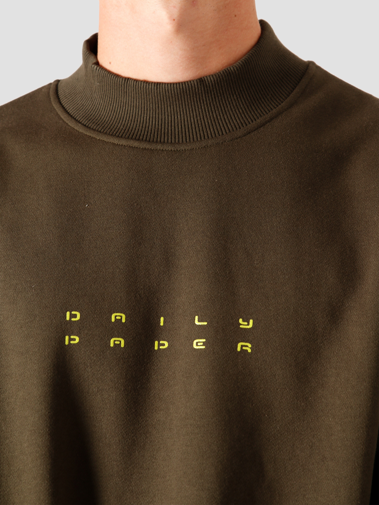 Daily Paper Daily Paper Jimfor Sweater Forest Green 2021045