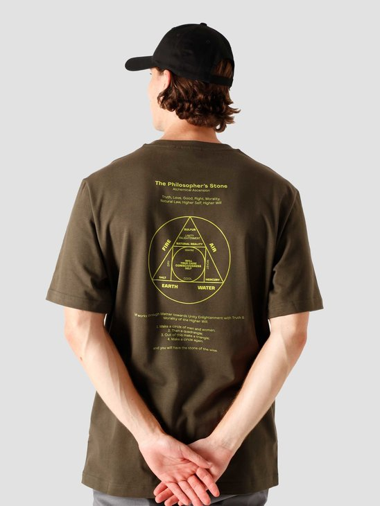 Daily Paper Jorfor T-Shirt Forest Green 2021050