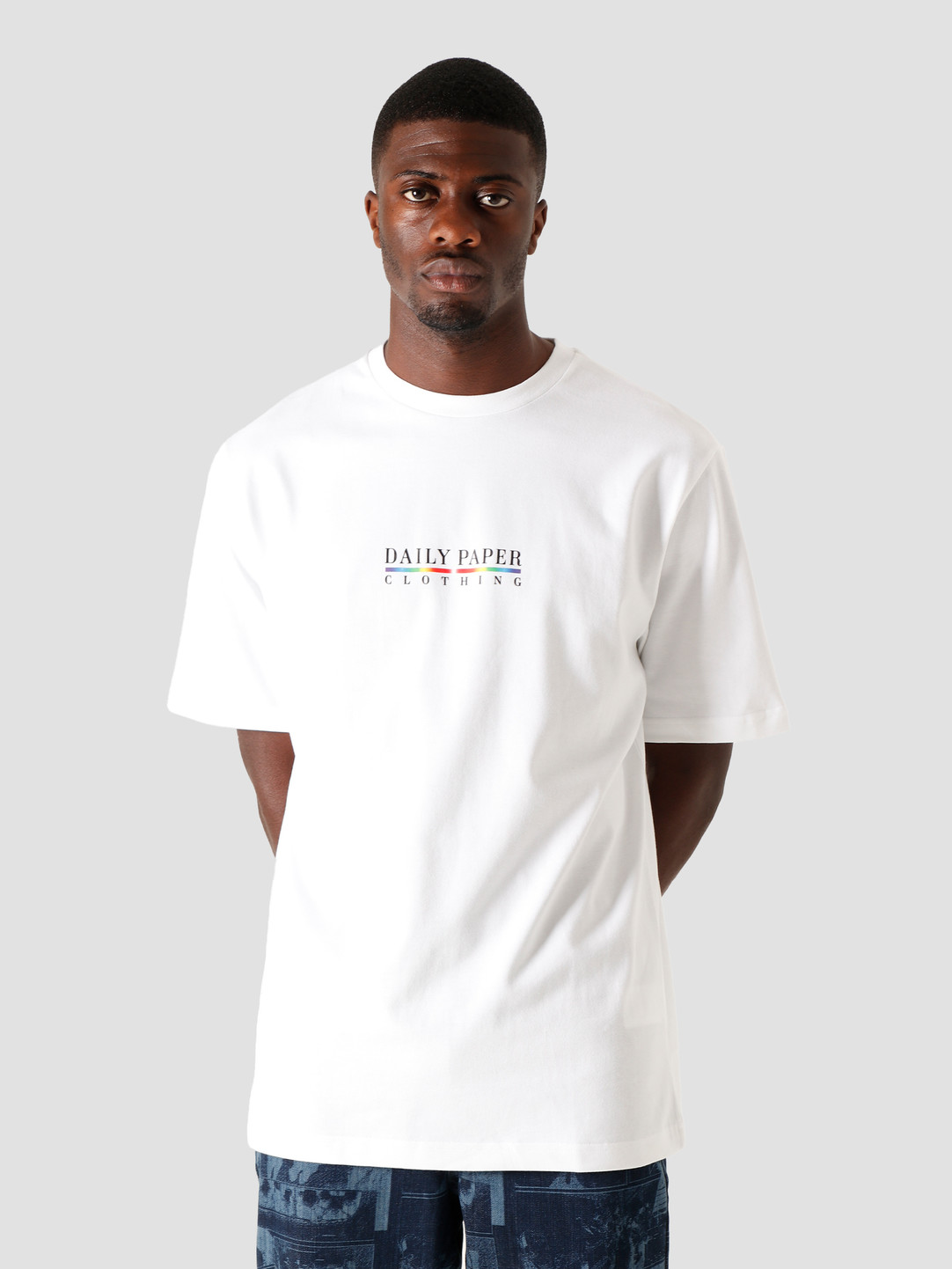 Daily Paper Daily Paper Jorwhi T-Shirt White 2021052