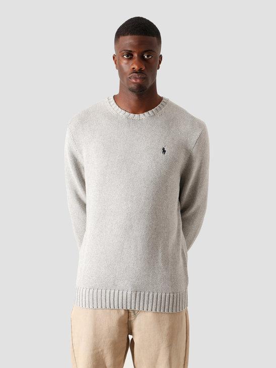 Polo Ralph Lauren Cotton Sweater  Andover Grey Heather 710727573002