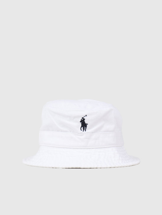 Polo Ralph Lauren Loft Bucket Hat White 710798567001