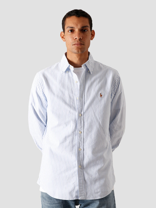 Polo Ralph Lauren Oxford Sport Shirt 2600A Basic Blue-White 710805531002