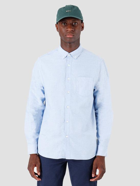 Quality Blanks QB40 Oxford Shirt Sky Blue