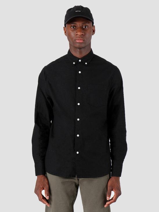 Quality Blanks QB40 Oxford Shirt Black