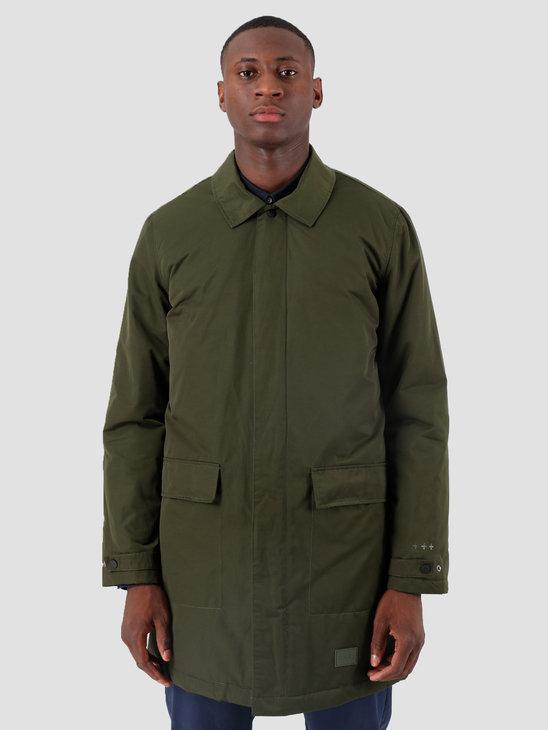 Quality Blanks QB26 Mac Coat 2-in-1 Green Dark Red