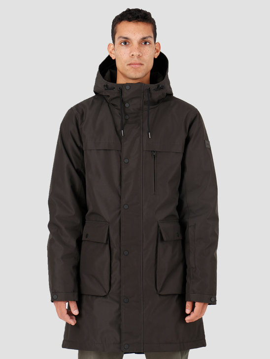 Quality Blanks QB25 Technical Parka Dark Army