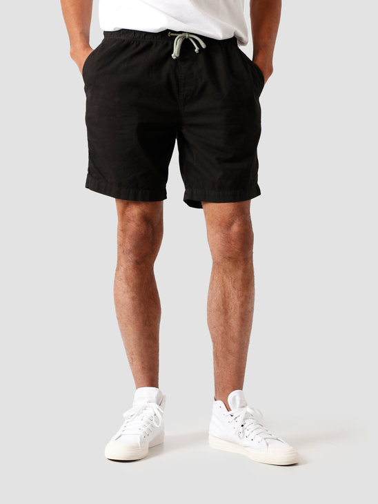 Quality Blanks QB31 Woven Short Dyed Black