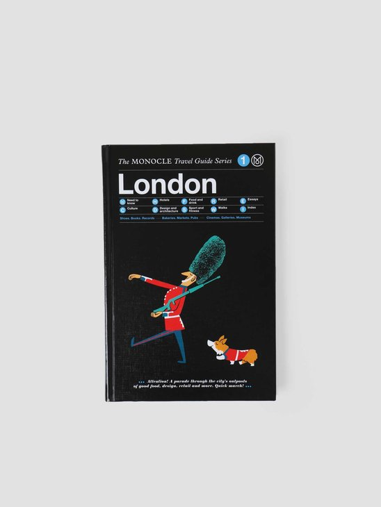 Buzzworks Monocle London Travel Guide