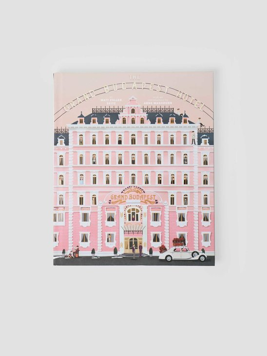 Books Wes Andersen The Grand Budapest