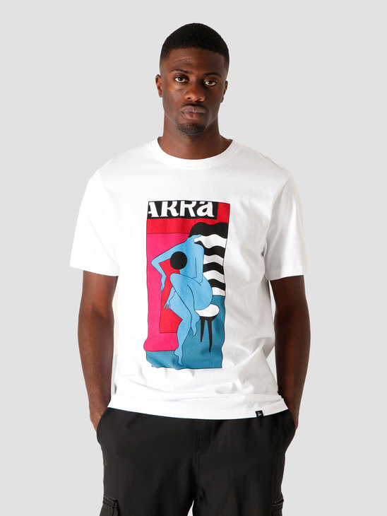 by Parra Bar Stool T-Shirt White 44150