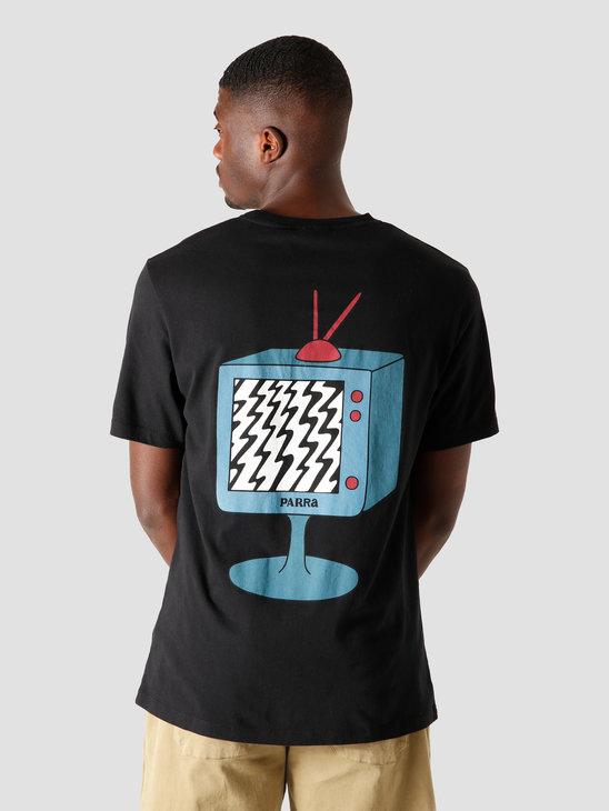 by Parra Channel Zero T-Shirt Black 44170
