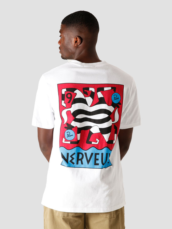by Parra Nerveux T-Shirt White 44140
