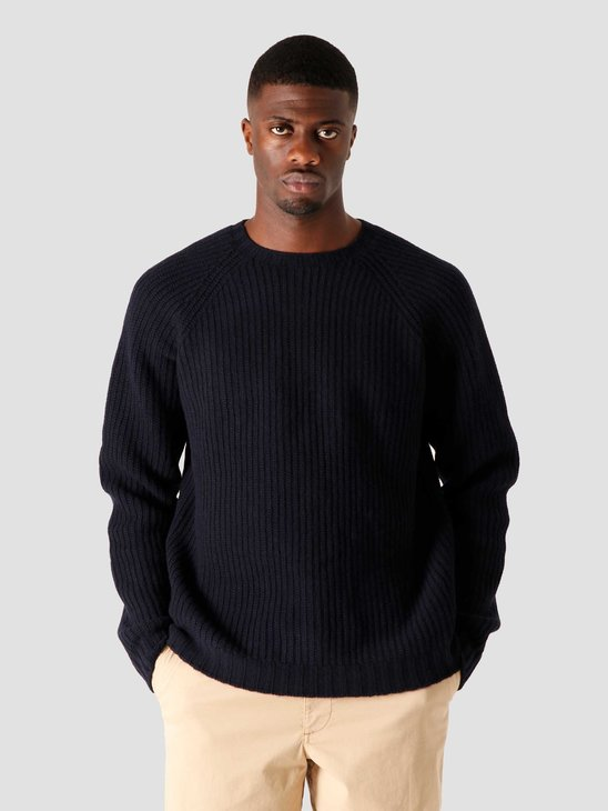Libertine Libertine Transfer C-Neck Sweater Dark Navy 1972
