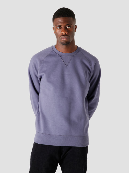 Carhartt WIP Chase Sweat Cold Viola Gold I026383-0F190