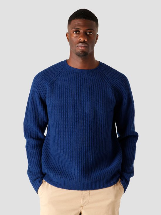 Libertine Libertine Transfer C-Neck Sweater Deep Blue 1972