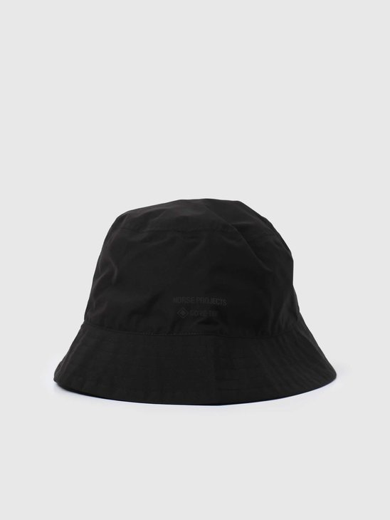 Norse Projects Gore Tex Bucket Hat  Black N80-0049-9999