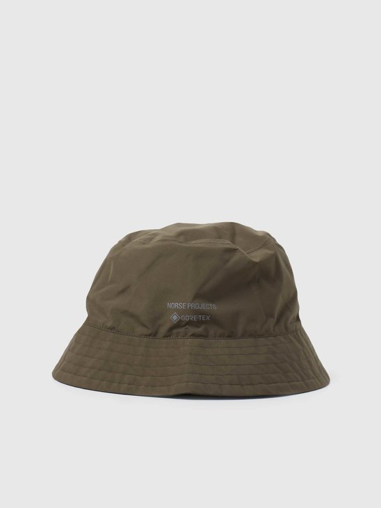 Norse Projects Gore Tex Bucket Hat Shale Stone N80-0049-2070