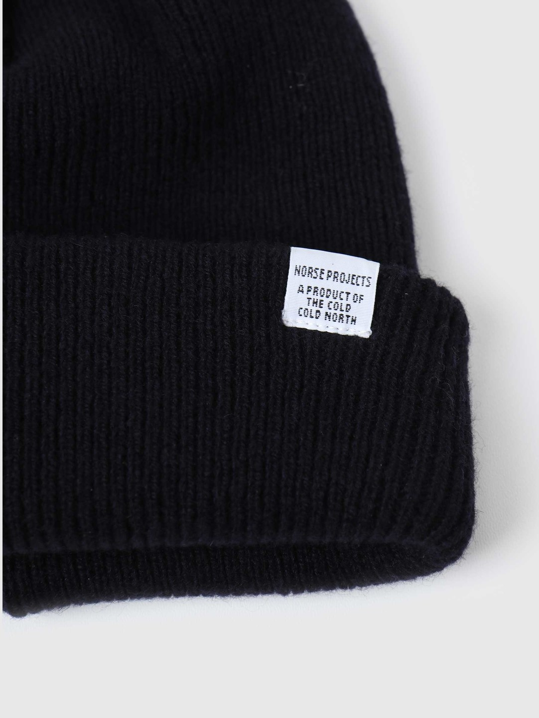 Norse Projects Norse Projects Norse Beanie Dark Navy N95-0569-7004