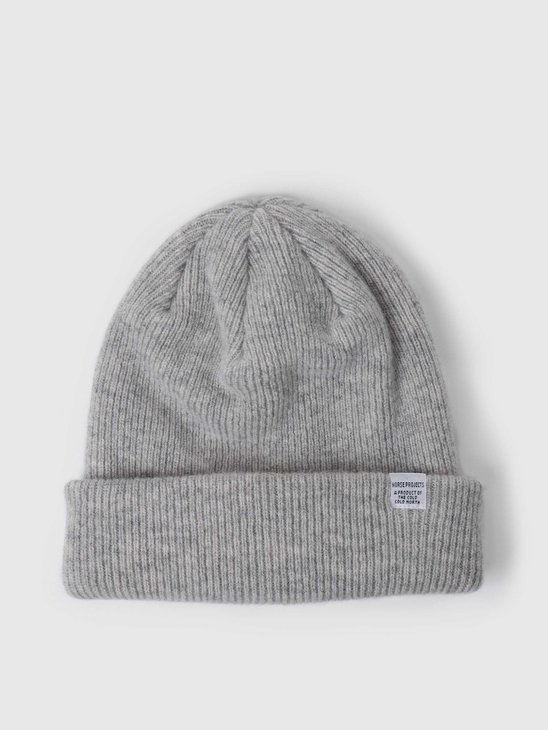 Norse Projects Norse Beanie Light Grey Melange N95-0569-1026