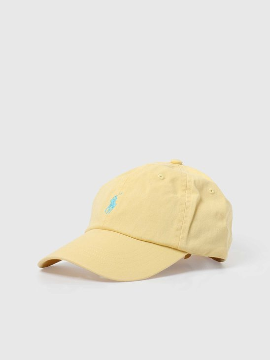 Polo Ralph Lauren Classic Sport Cap With Small PP Empire Yellow 710673213049