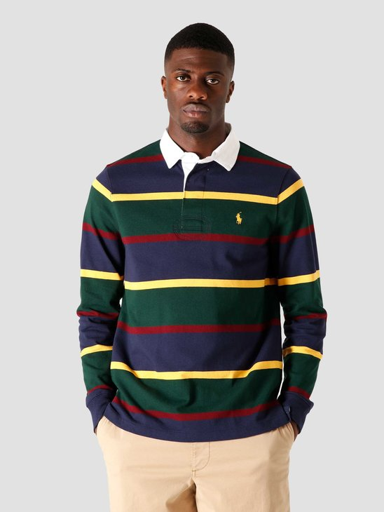 Polo Ralph Lauren Long Sleeve Knitted Sweater College Green Multi 710818479003