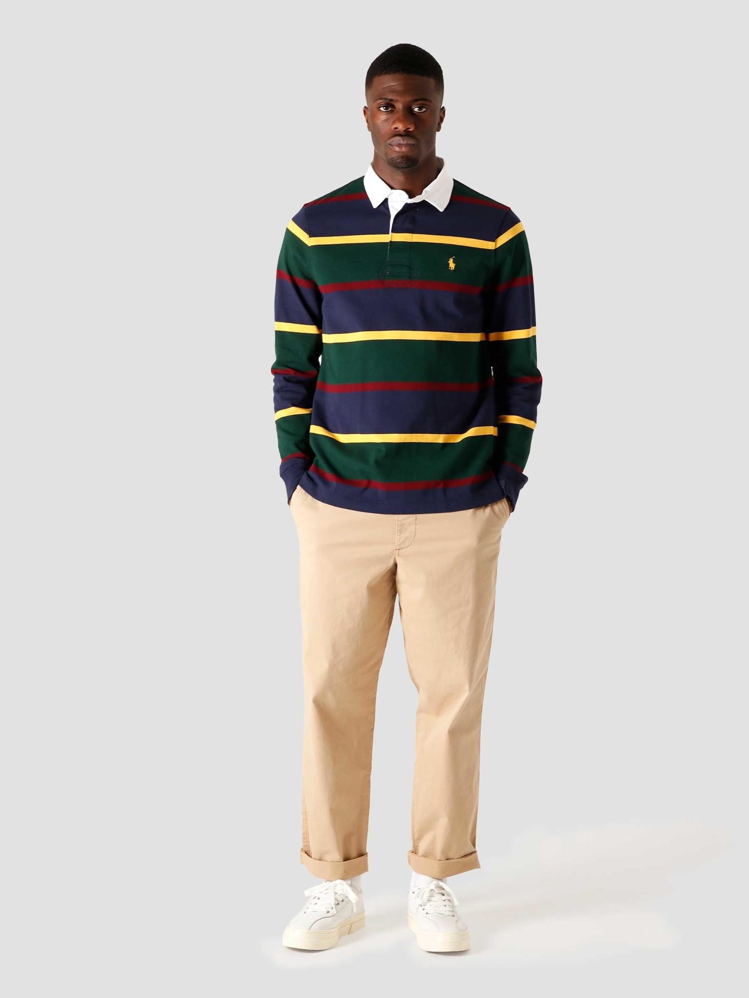 Polo Ralph Lauren Polo Ralph Lauren Long Sleeve Knitted Sweater College Green Multi 710818479003