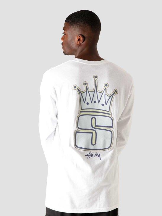 Stussy S Crown Longsleeve White 1994561