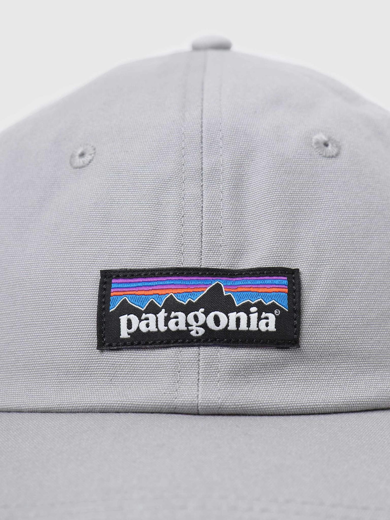 Patagonia Patagonia P-6 Label Trad Cap Drifter Grey 38296
